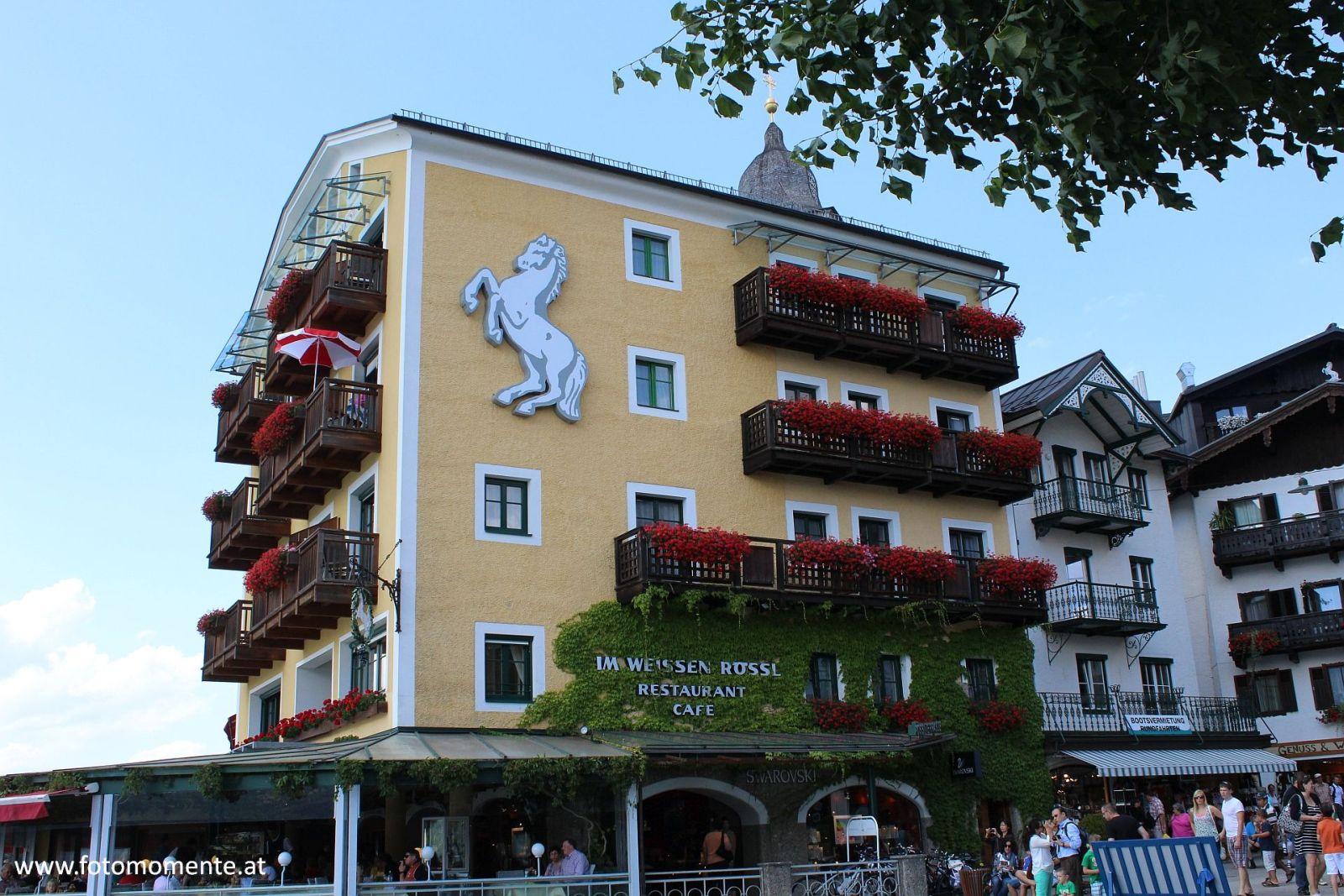 Im Weissen Rössl St. Wolfgang Wolfgangsee - Cafe Im Weissen Rössl in St. Wolfgang am Wolfgangsee