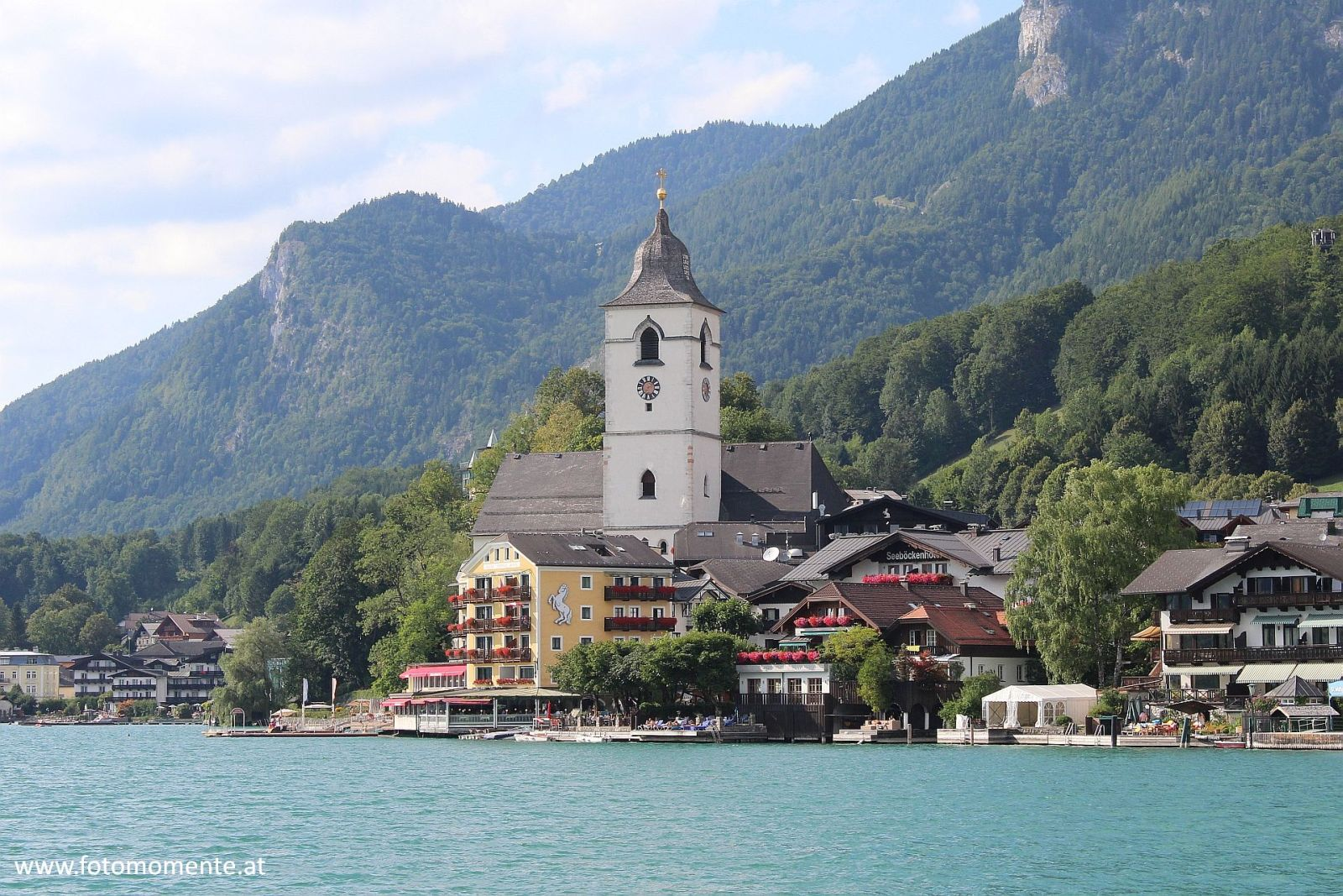 Kirche St. Wolfgang Wolfgangsee - Kirche in St. Wolfgang am Wolfgangsee