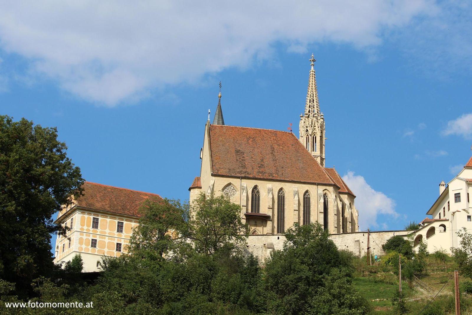 Wallfahrtskirche Maria Straßengel von hinten
