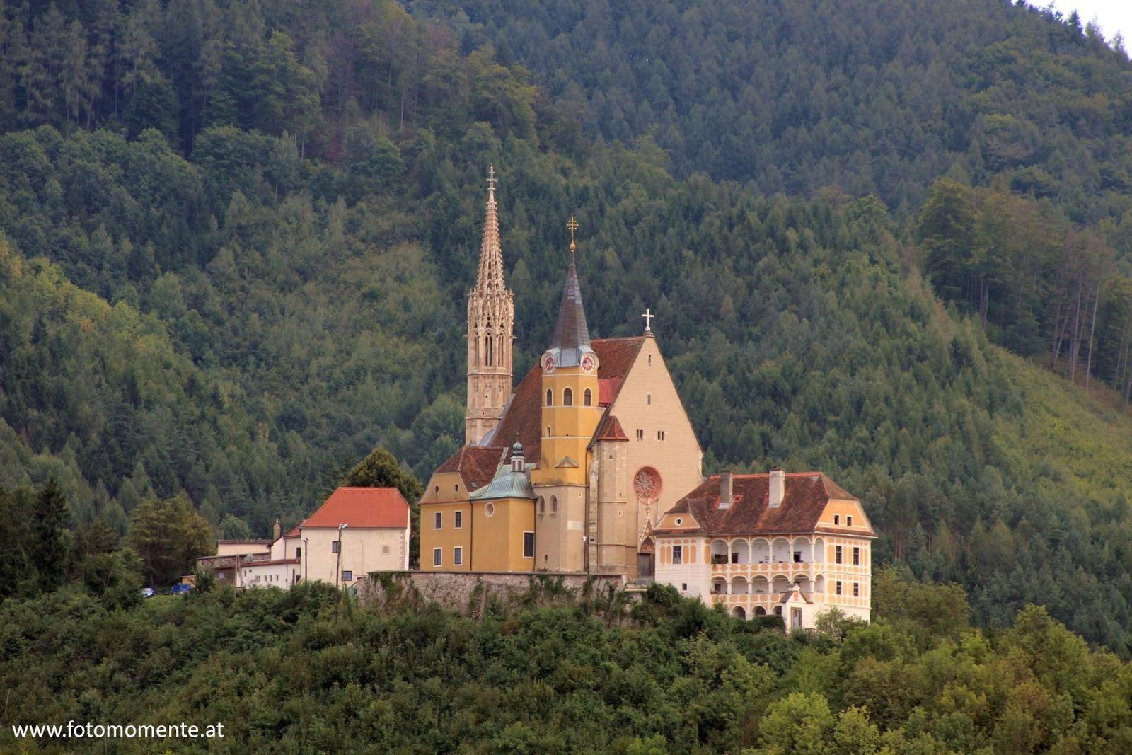 Wallfahrtskirche Maria Straßengel von vorne