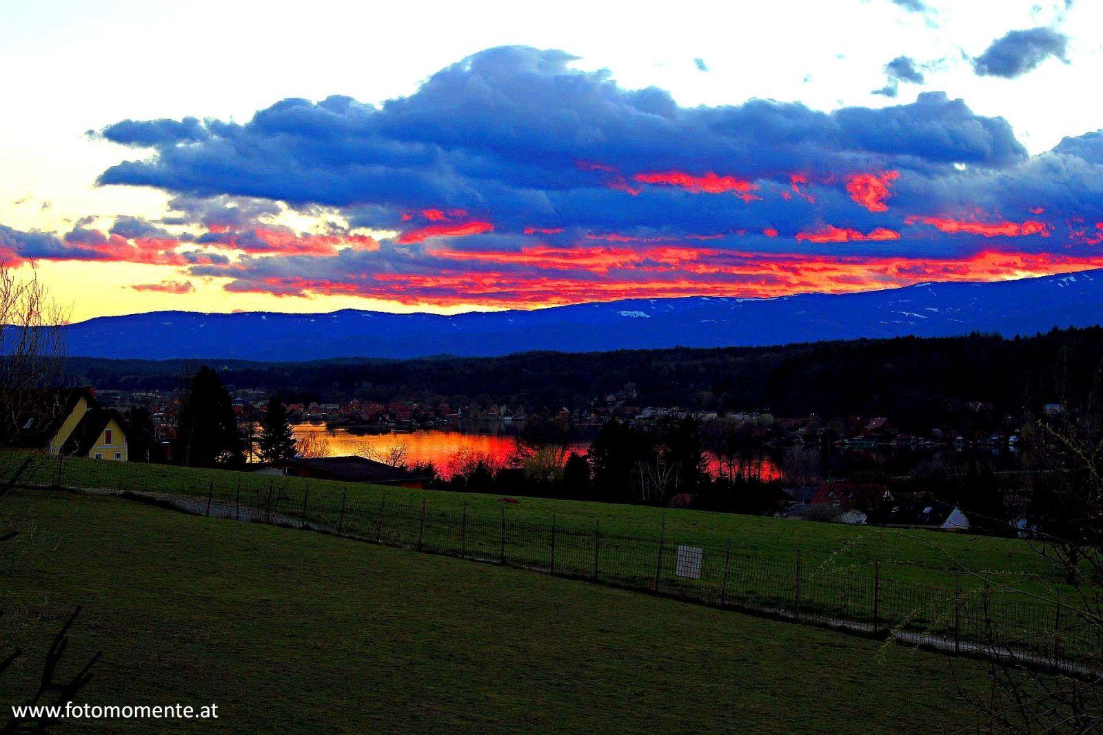 abendrötung am waldschacher see3 - Abendrötung am Waldschacher-See