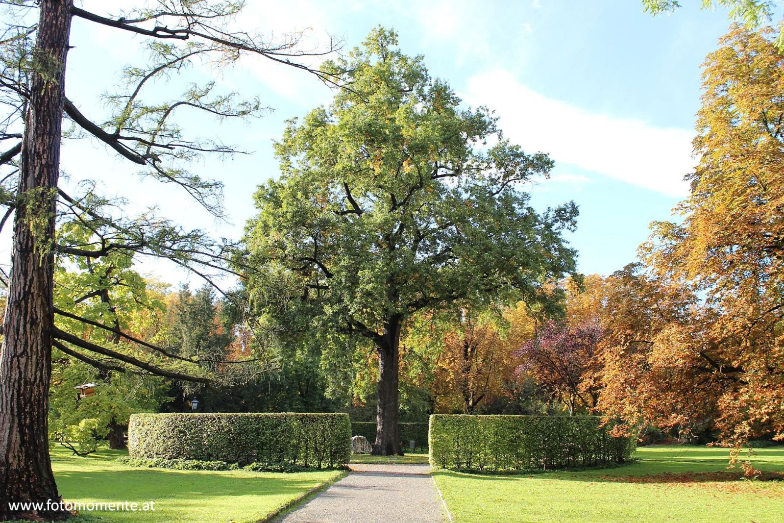 Grazer Stadtpark im Herbst