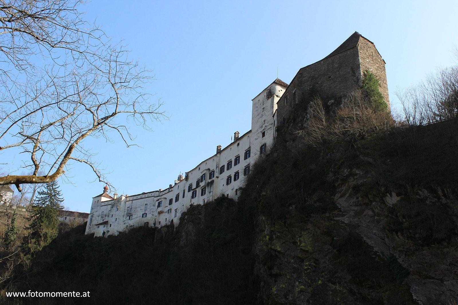 schloss herberstein - Schloss Herberstein von der Feistritzklamm