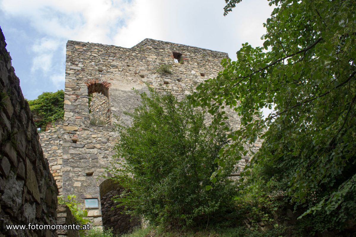 Burgruine Gösting im Innenhof