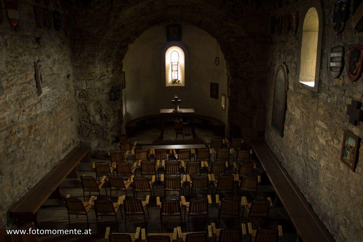 Burgkapelle Hl. Anna in der Burgruine Gösting