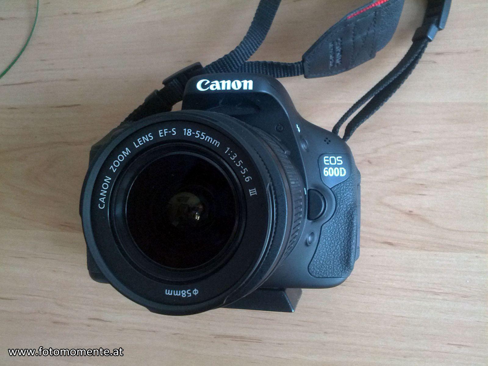 Canon 600D - Canon 600D – Mein Erfahrungsbericht