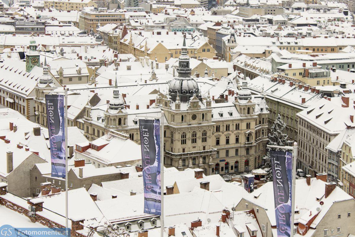Graz_im_Schnee_Grazer_Rathaus