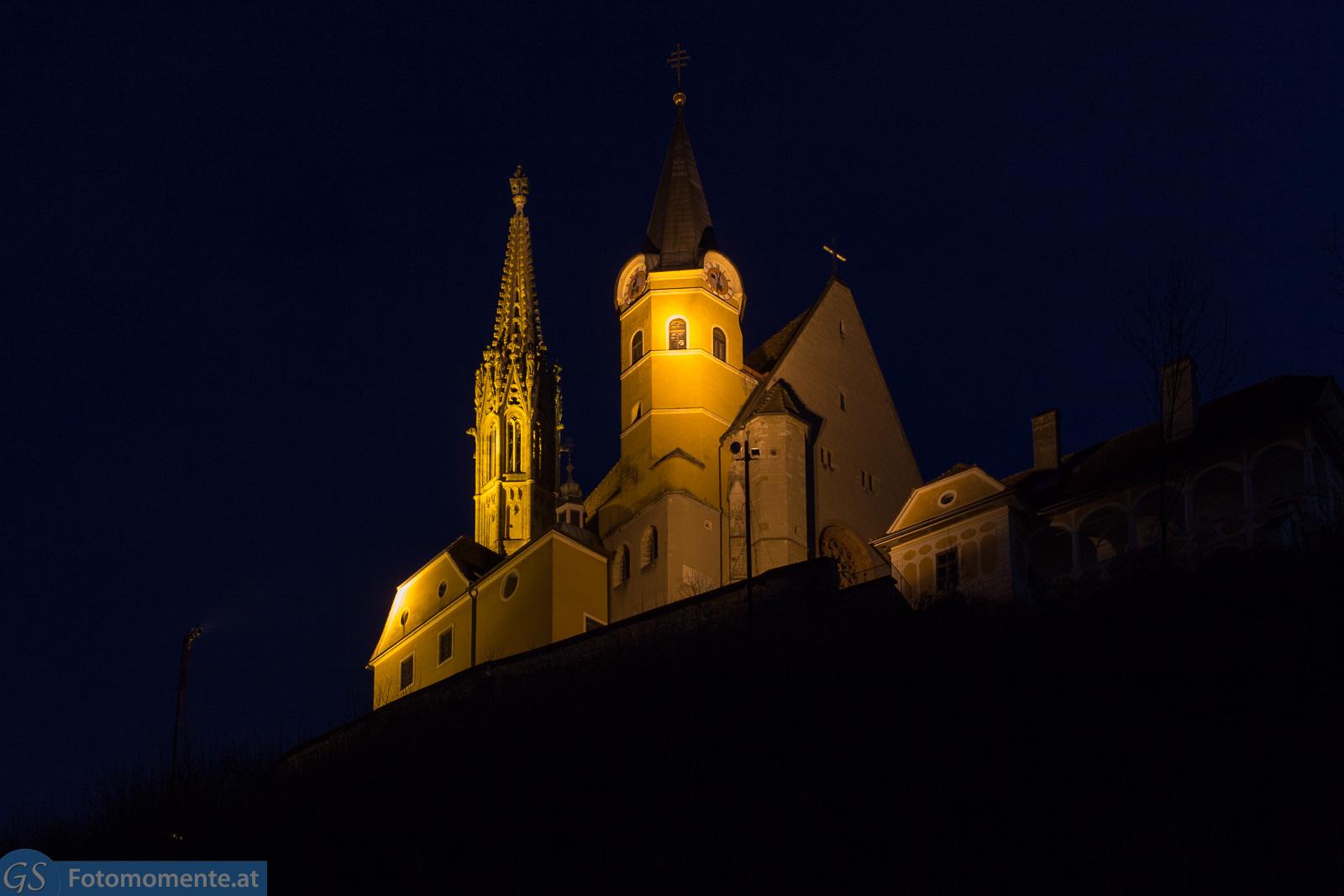 Wallfahrtskirche Maria Straßengel 5 - Wallfahrtskirche Maria Straßengel - Tag und Nacht