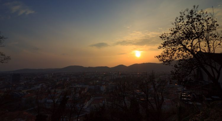 Timelapse-Sonnenuntergang-Graz